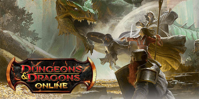 dungeon and dragons online logo