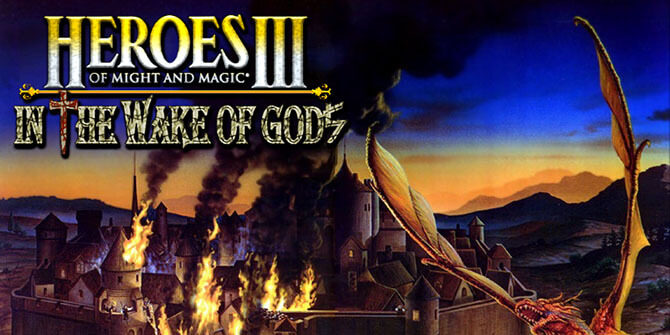heroes of might and magic 3 - in the wake of gods logo