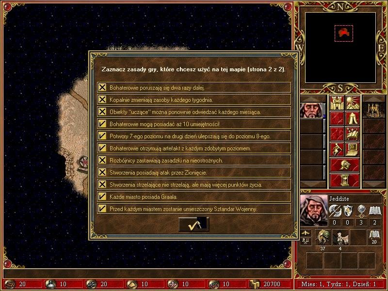 heroes of might and magic 3 - in the wake of gods - nowe zasady