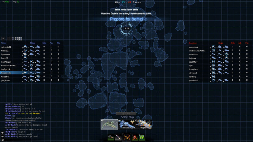 Star Conflict - matchmaking
