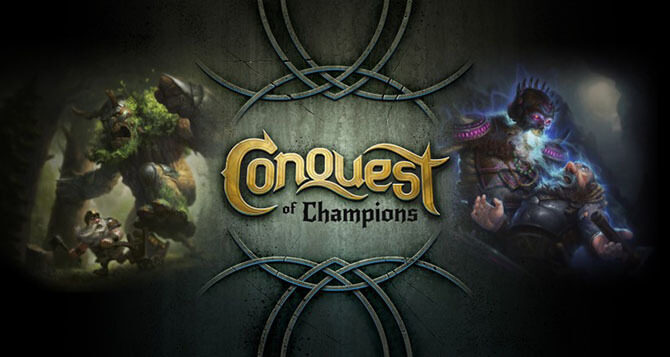 Conquest of Champions - logo