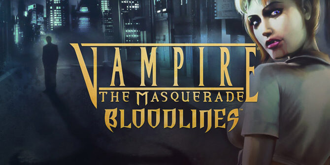 Vampire The Masquerade Bloodlines - logo