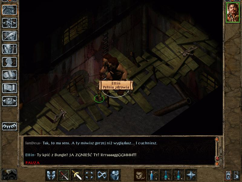 Baldur's Gate II The Darkest Day - Ettin