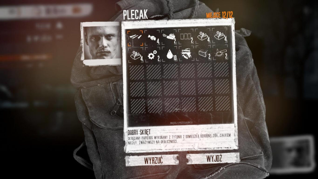 This War of Mine - plecak