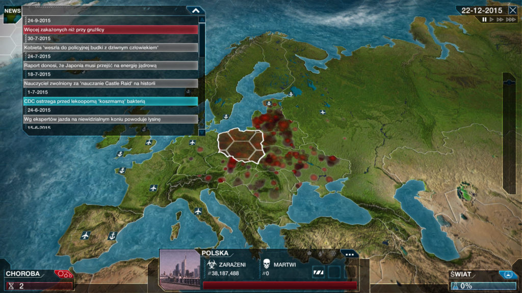 Plague Inc Evolved - Polska