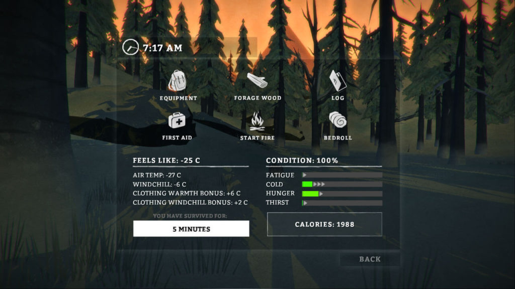 The Long Dark - crafting