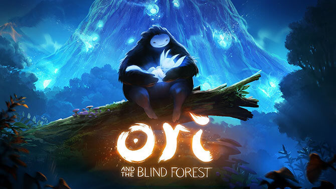 ori and the blind forest - logo