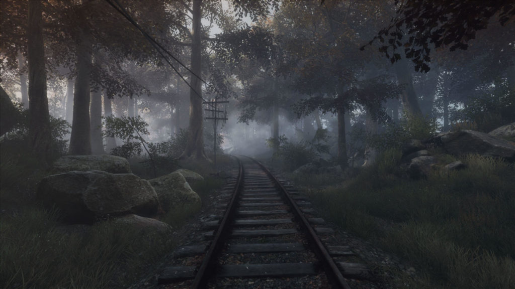 The Vanishing of Ethan Carter - Krajobraz