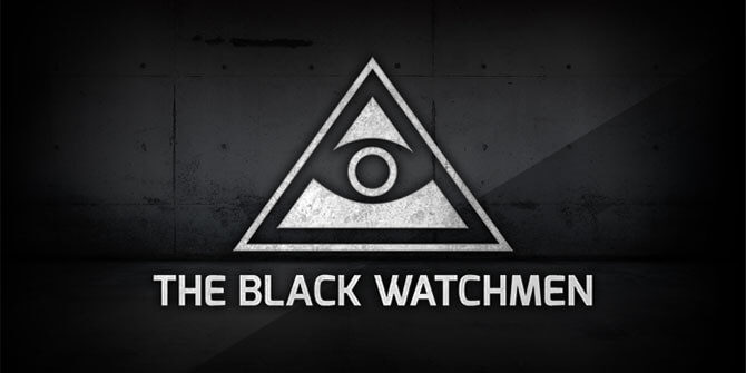 The Black Watchmen - logo