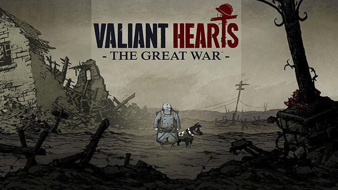Valiant Hearts - logo
