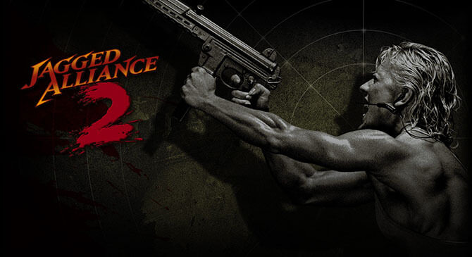 Jagged Alliance 2 - logo