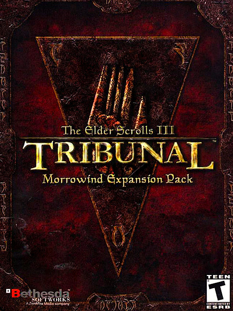 Morrowind - Tribunal expansion pack cover
