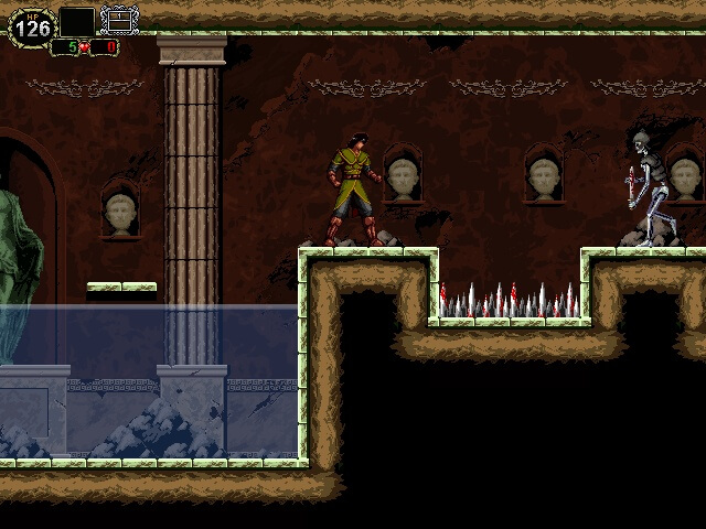 Castlevania The Lecarde Chronicles 2 - gameplay