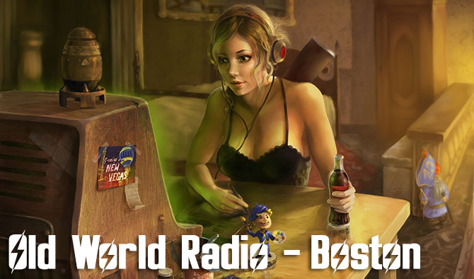 old world radio - boston fallout 4