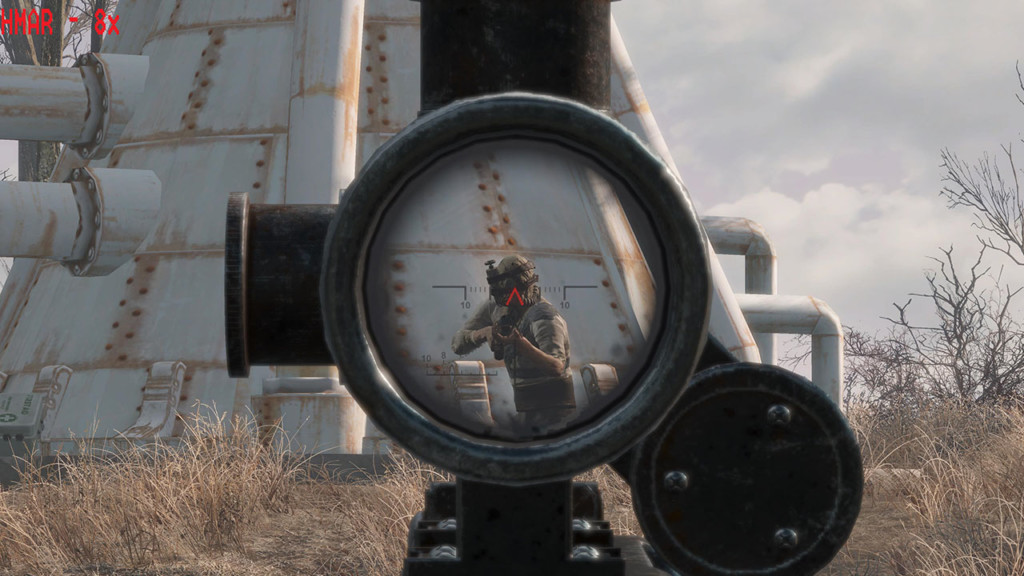 See Through Scopes - Fallout 4