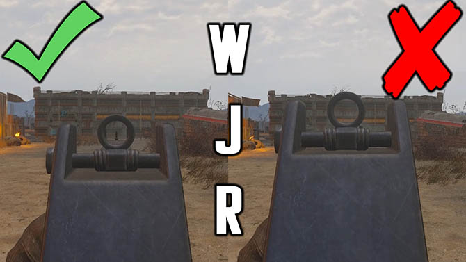 weapon jiggle remover fallout 4