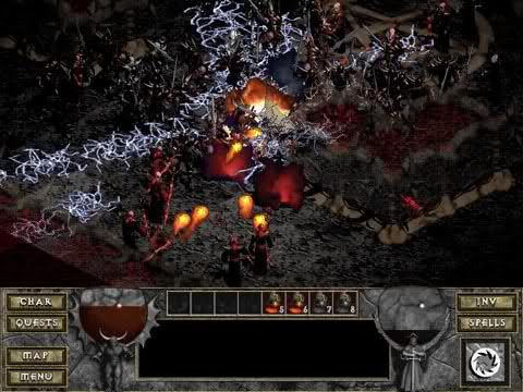 Diablo The Hell - 16 level
