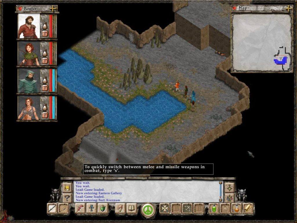 avernum escape from the pit - początki