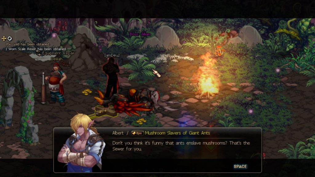 Dungeon Fighter Online - dialog