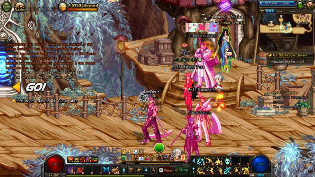 Dungeon Fighter Online - miasto-hub