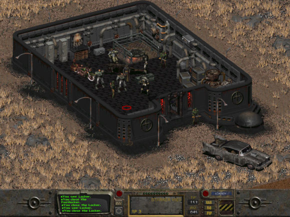 Fallout 2 Restoration Project - church