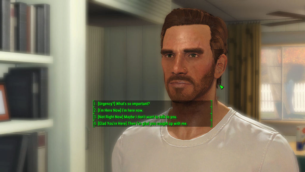 Fallout 4 - Full Dialogue Interface