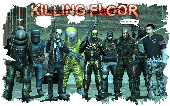 Killing Floor - characters_by_nexuselite