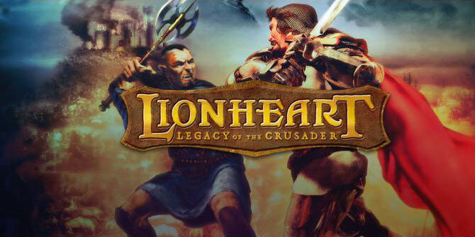 lionheart legacy of the crusader logo