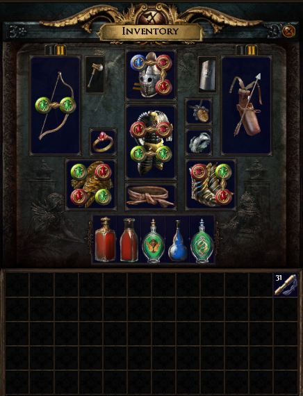 Path of Exile - ekwipunek
