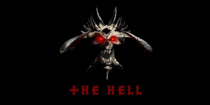 the hell logo