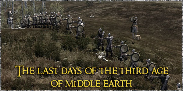 The Last Days Of The Third Age Of Middle Earth Mod logo