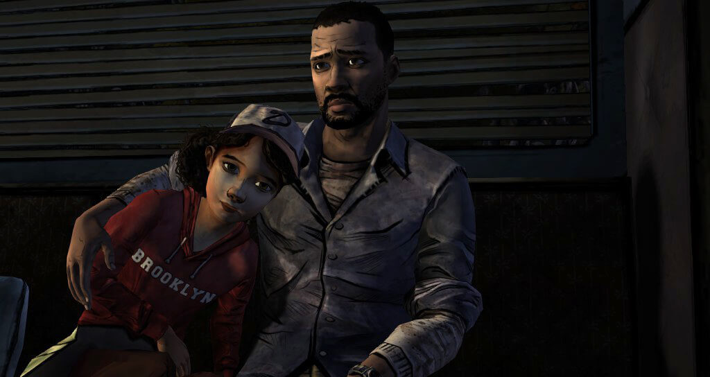 The Walking Dead Clementine i Lee